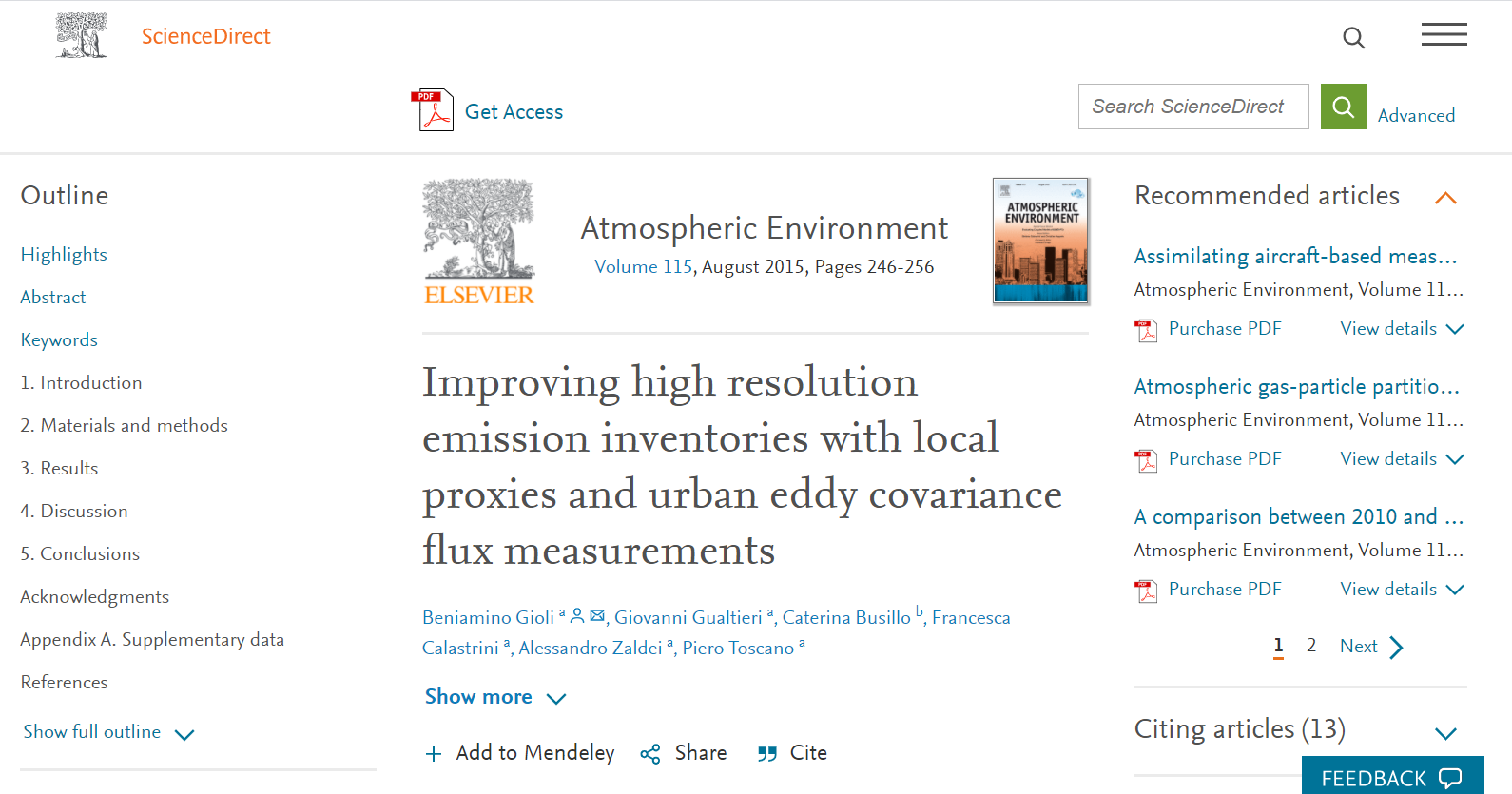 Improving high resolution emission inventories with local proxies and urban eddy covariance flux measurements